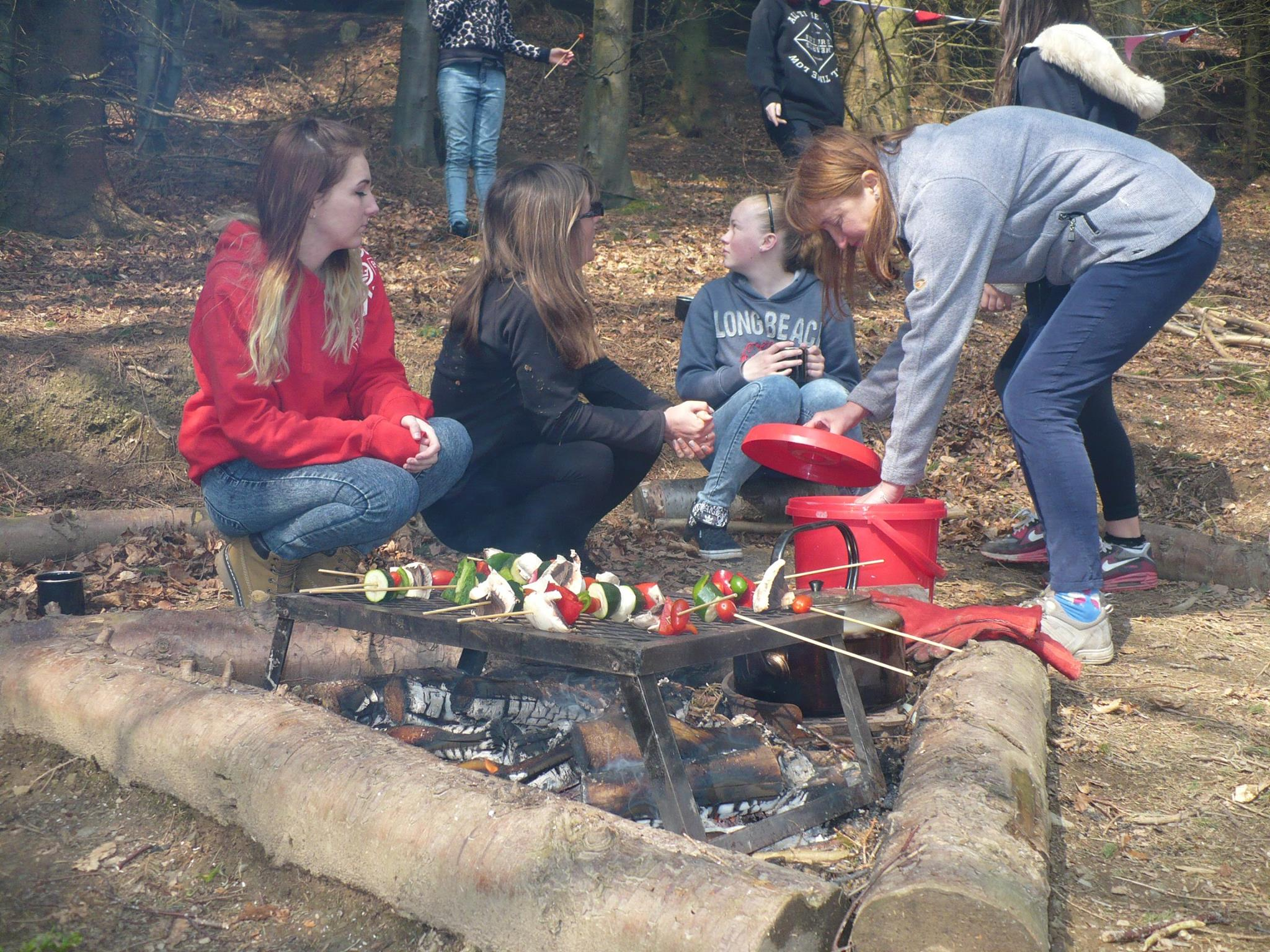 Cooking Lunch 2 Colwyn Bay Forest School